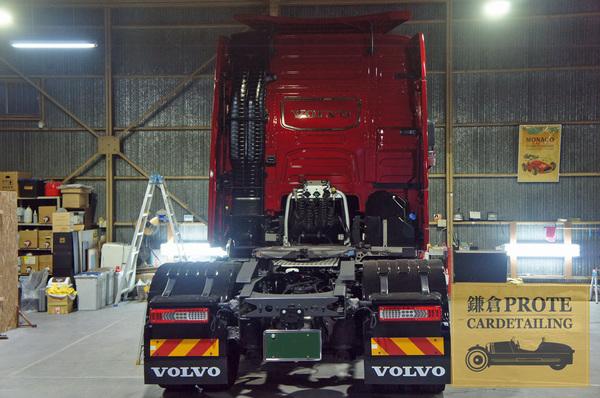 VOLVO ボルボ FH トラックヘッド アドバンストクオーツコーティング