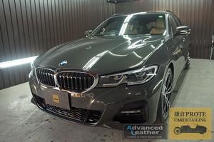BMW G21 330i ツーリング 鎌倉コート(ガラス系フッ素コーティング)+アドバンストシートコーティング