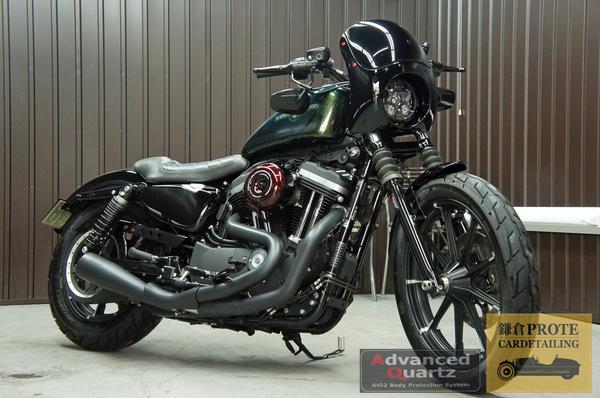 Harley Davidson ハーレーダビッドソン Sportster スポーツスター アドバンストクオーツコーティング