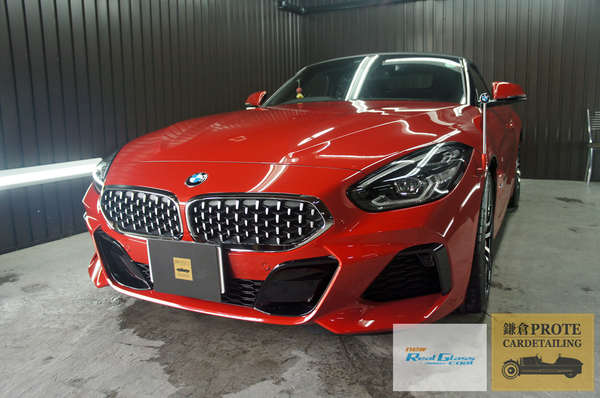 BMW ビーエムダブリュー G29 Z4 ロードスター G'ZOX ニューリアルガラスコート