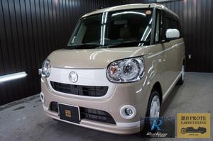 DAIHATSU ダイハツ MOVE canbus ムーブキャンバス G'ZOX リアルガラスコート Class R