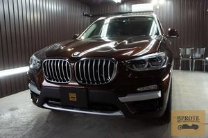 BMW G01 X3 20d 鎌倉コート(ガラス系フッ素コート)+ ホイールコート